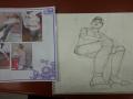미술학원에.. : 미술학원에서 앵글 들어갔는데 너무 어려워요,,, 스케치판 ,sketchpan