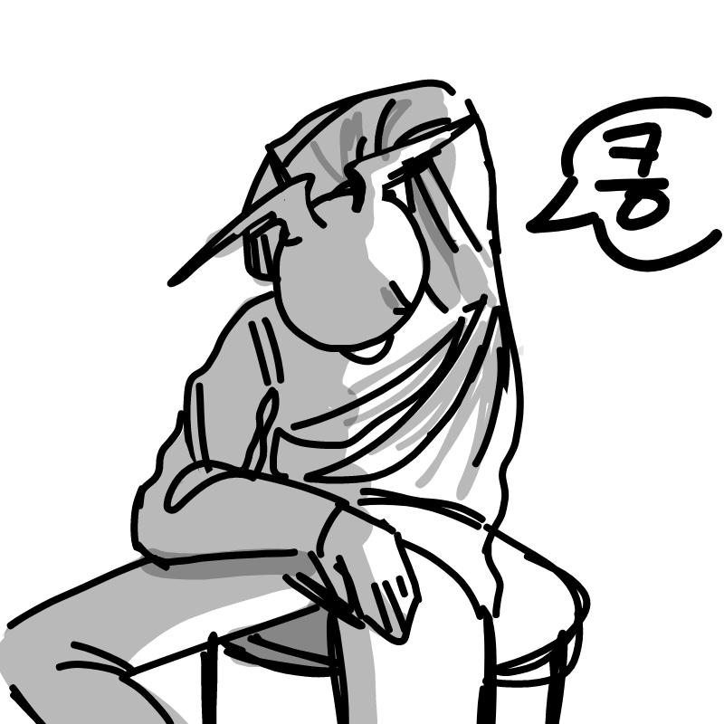 제 땀냄새 .. : 제 땀냄새 좀 신기한듯 찐빵냄새남 스케치판 ,sketchpan