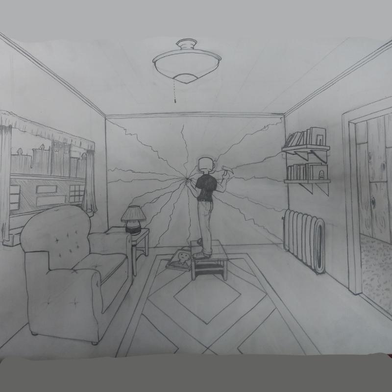 저 학원에.. : 저 학원에서 이제 배경투시 들어가여 스케치판 ,sketchpan
