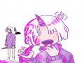 꺅꺗꺄 캐 .. : 꺅꺗꺄 캐 너모 이뻐서 그리는데 행복했어요ㅠㅠㅠㅠㅠ 스케치판 ,sketchpan