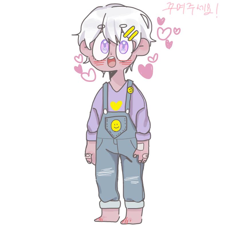 꺔찍한 숏.. : 꺔찍한 숏컷 여자아이 스케치판 ,sketchpan