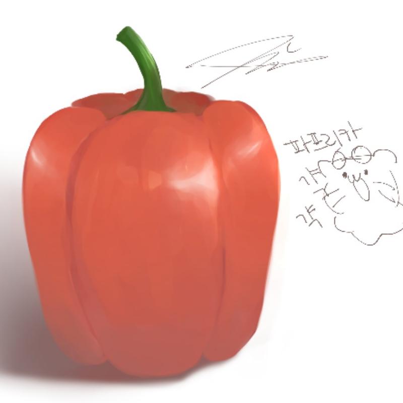 파프리카?.. : 파프리카??!?!!! 스케치판 ,sketchpan