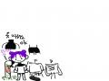 옷 하양 검.. : 옷 하양 검정 맞아요~!~!! 스케치판 ,sketchpan