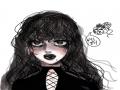 자캐 컨셉 .. : 자캐 컨셉 화장 스케치판 ,sketchpan