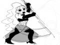 앙쥬 : 앙쥬 스케치판 ,sketchpan