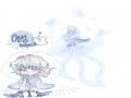 해파리 :) : 해파리 :) 스케치판 ,sketchpan