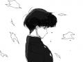 시게오 : 모브사이코100 스케치판 ,sketchpan
