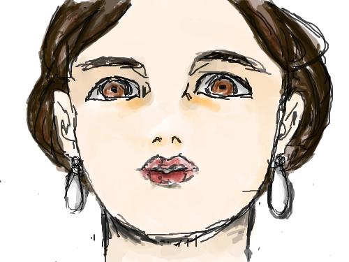 고압적인 모습 : 을 그리고 싶었으나(',') 스케치판 ,sketchpan