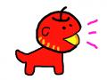 사과 강아지 - 선생님 : 사과 강아지 - 선생님 스케치판 ,sketchpan