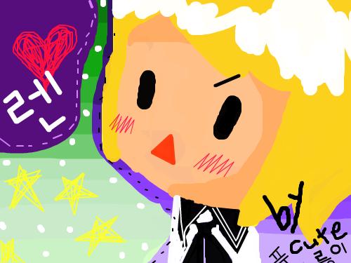 카가미네린 : 린이에요 자나께나 렌사랑 스케치판 ,sketchpan