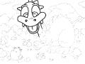 따라그리기 : 점선따라 선그려보셈 스케치판 ,sketchpan