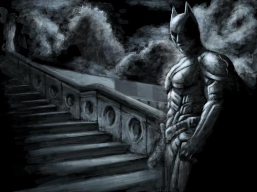 배트맨 : 간지배트맨 스케치판 ,sketchpan