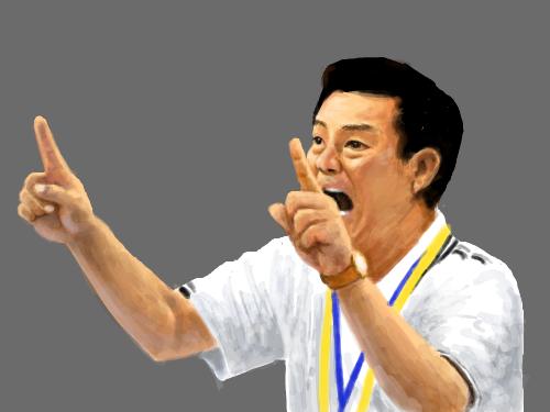 여자핸드볼대표팀감독 : 아름다운 감독님 ~~ 스케치판 ,sketchpan