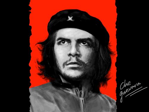 Ernesto Guevara de la Serna : 쿠바혁명가 체게바라 .......T 입고싶다.ㅎㅎ 스케치판 ,sketchpan