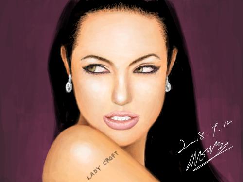 Angelina Jolie Voight : 안젤리나 졸리는 넘 이뻐 스케치판 ,sketchpan