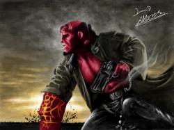 hellboy 2 : 헬보이봐야지 ^^ , 스케치판,sketchpan,시네손