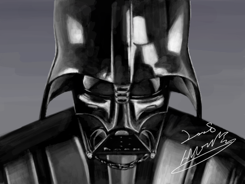 Darth Vader : i'm your father ... 스케치판 ,sketchpan