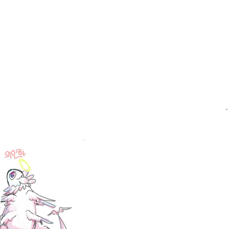 의인화 : 의인화 스케치판 ,sketchpan