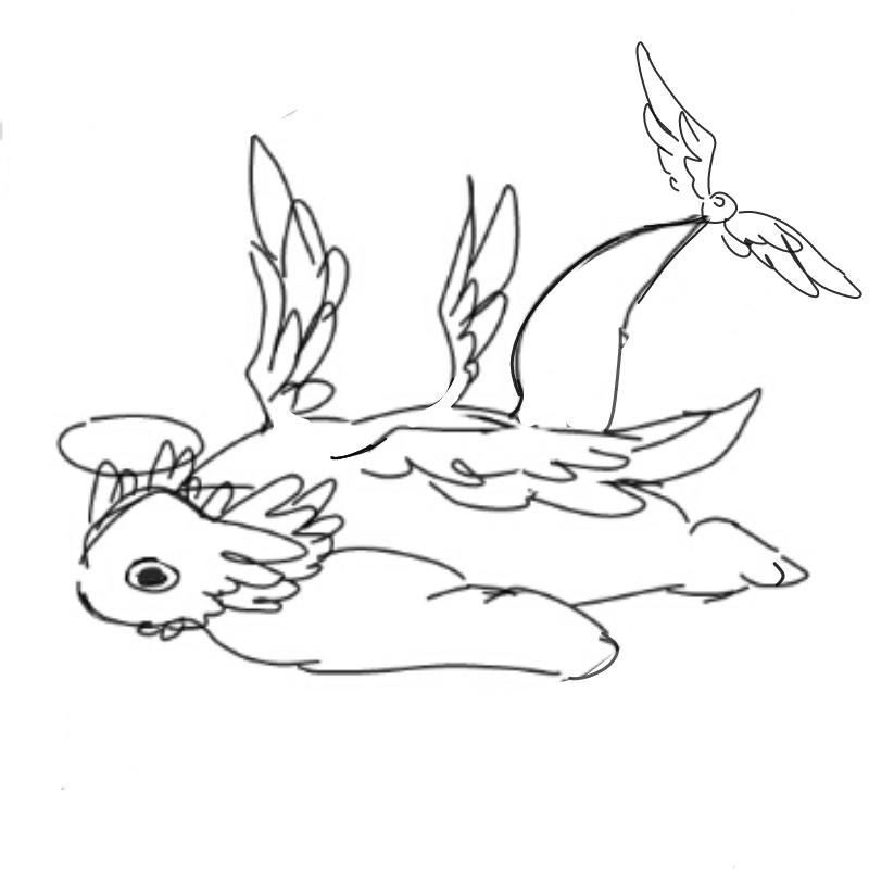 라파엘 : 라파엘 스케치판 ,sketchpan