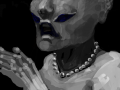 외계인의침공 : 외계인의침공 스케치판 ,sketchpan
