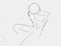 근육그리기.. : 근육그리기재밋음 허억허억 스케치판 ,sketchpan