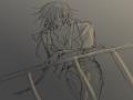 구라쟁이새.. : 구라쟁이새끼 스케치판 ,sketchpan