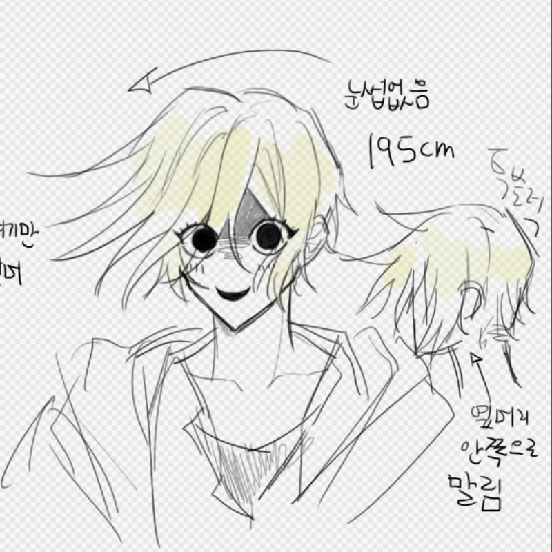 남캐러가 .. : 남캐러가 오백년만에여캐를굴려보기로함 스케치판 ,sketchpan