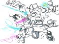 마사군단 : 마사군단 스케치판 ,sketchpan