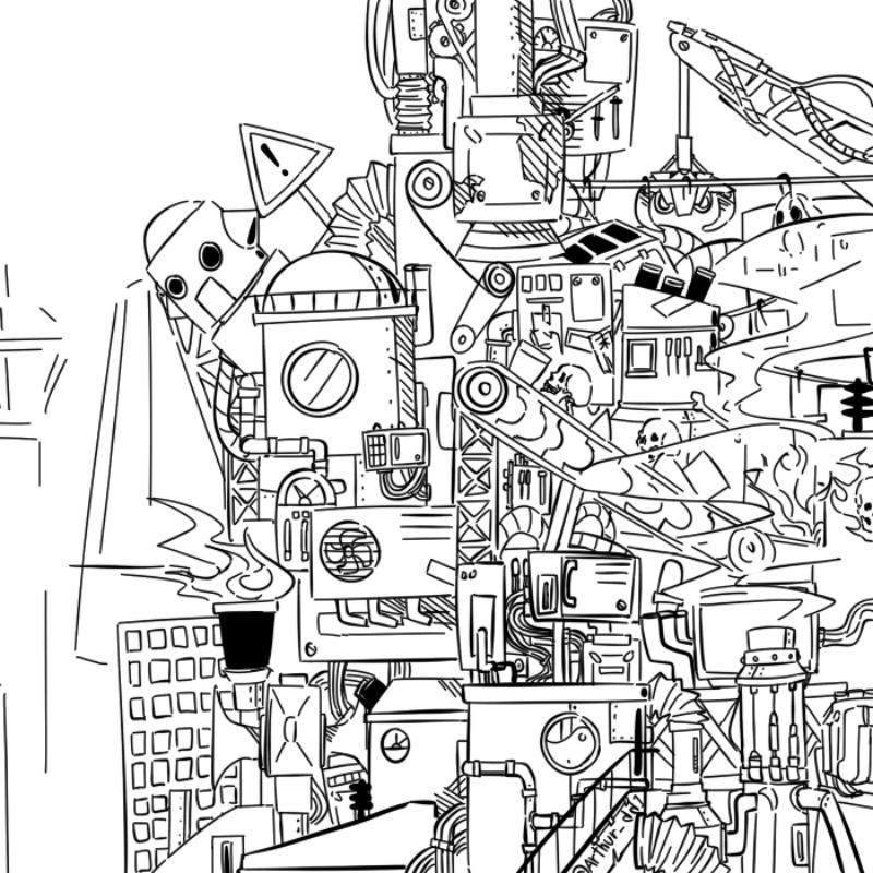 아 뭐하지 : 아 뭐하지 스케치판 ,sketchpan