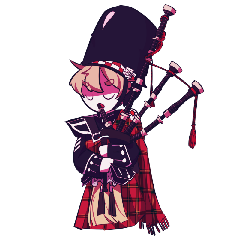Scotland t.. : Scotland the Brave 스케치판 ,sketchpan