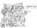 2040사이바-.. : 2040사이바-팡크 스케치판 ,sketchpan