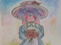 색연필쓰는.. : 색연필쓰는거 너무 재밋음 스케치판 ,sketchpan
