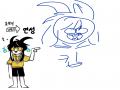 이놈도 이.. : 이놈도 이따가 그려야징 스케치판 ,sketchpan