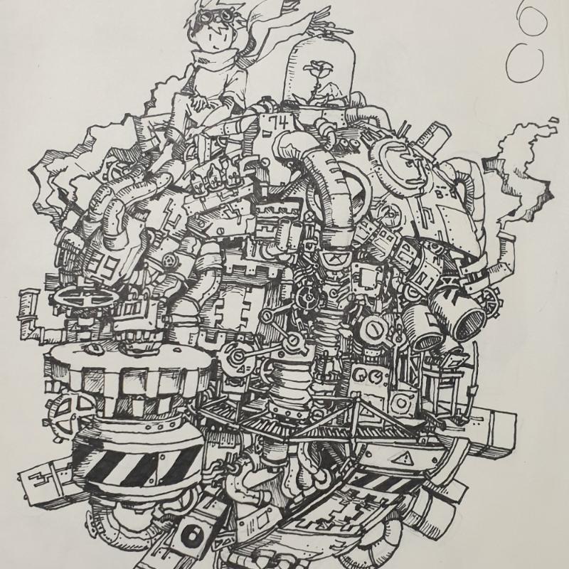 겅부 듀거 : 겅부 듀거 스케치판 ,sketchpan