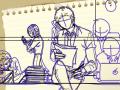 기맨물 : 미완성ㅇㅇㅇ 스케치판 ,sketchpan