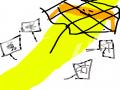 그물에게 .. : 그물에게 사로잡힌 마음 스케치판 ,sketchpan