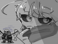 원레이어~^.. : 원레이어~^^(러프 빼고 스케치판 ,sketchpan