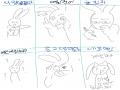 이렇게 제 .. : 이렇게 제 시험은 망했다고 합니다 .. 스케치판,sketchpan