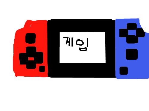 아쉬운 게임기-고태관 : 열시미 게임기 만들었는데 아쉬웠다. 스케치판 ,sketchpan