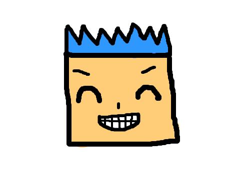 네모얼굴-임수연 : 네모얼굴친구에요 스케치판 ,sketchpan