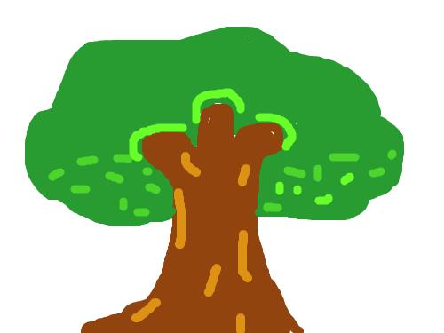 t멋있게(?)나무를 그렸다.-고태관- : 나무를 그렸다 스케치판 ,sketchpan