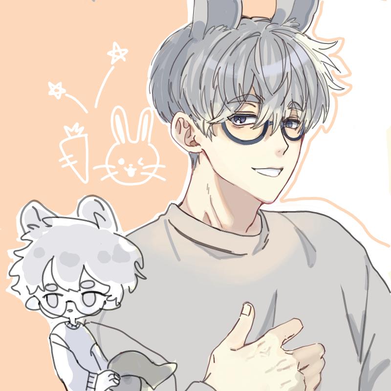 캐 넘우 귀.. : 캐 넘우 귀엽다 토깽~~ 스케치판 ,sketchpan