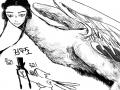 모 라 구 .. : 모 라 구 요 ¿ 인면조 하면 두조죠! 스케치판 ,sketchpan