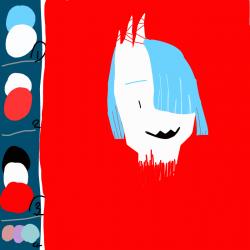 수염났어. : 수염났어. , 스케치판,sketchpan,월화루