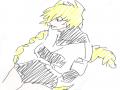 냥냥 : 냥냥 스케치판 ,sketchpan