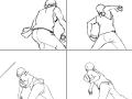 전력투구!!(은수저) : 소년가장의 코마바 이치로의 전력투구!! 스케치판 ,sketchpan