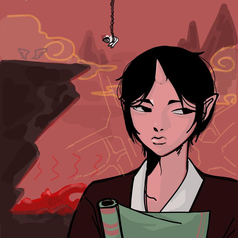 그리고싶어.. : 그리고싶어서 그렸는데 안닮은 호오즈키 스케치판 ,sketchpan