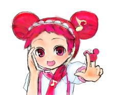 레미~미키마우스엠피 패러디 : 꼬마마법사 레미...아이리버꺼 미키마우스 엠피랑 닮았지않나여 ㅋㅋㅋ , 스케치판,sketchpan,냐묘