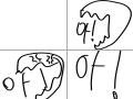 짜증 : 짜증 스케치판 ,sketchpan