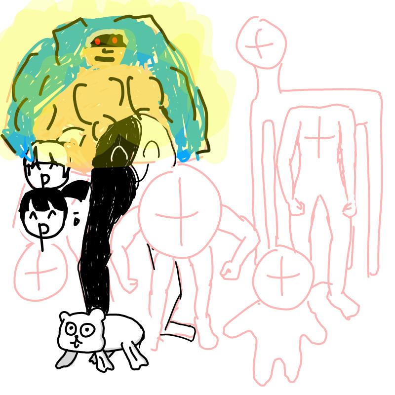 근육형..형.. : 근육형..형님?.... 스케치판 ,sketchpan